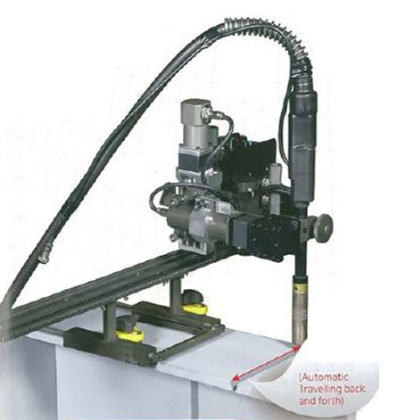 Koweld Buff Fillet Weaving Welder with Automatic Travelling Back & Forth