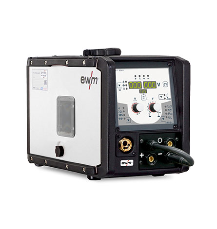 EWM Multiprocess MIG_MAG Pulse Welding Machines Portable