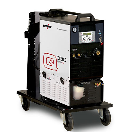 EWM Multiprocess MIG_MAG Pulse Welding Machines, Mobile